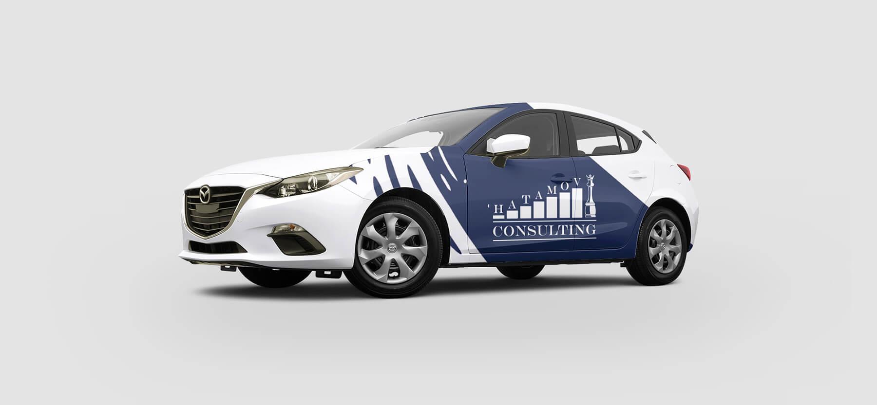 Логотип и фирменный стиль Hatamov Consalting 7