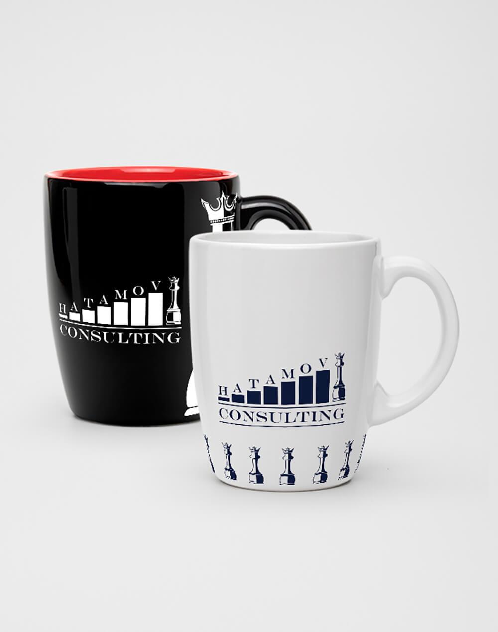 Логотип и фирменный стиль Hatamov Consalting 2