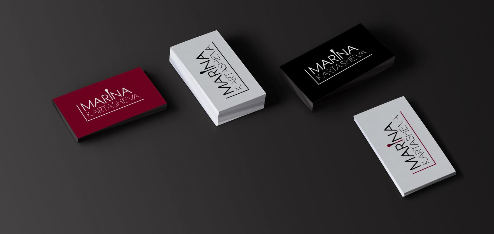 Сайт-портфолио, логотип и фирменный стиль 1