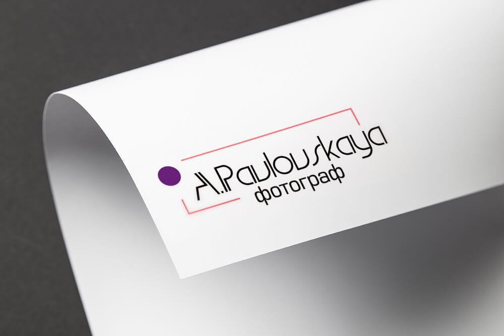Анастасия Павловская: логотип & фирменный стиль 2