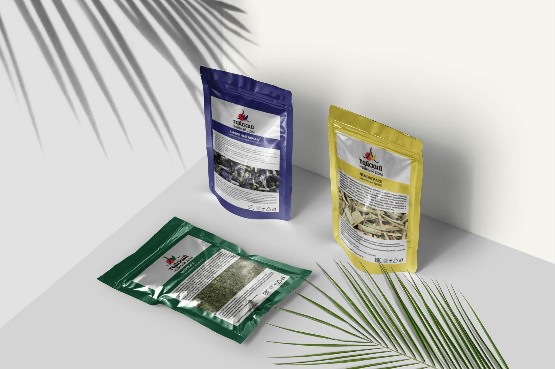 Тайский Чайный Дом, брендинг 5